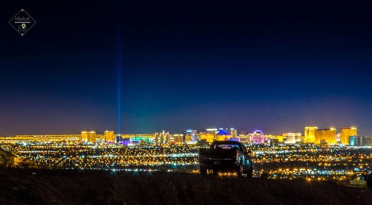 Die Skyline von Las Vegas