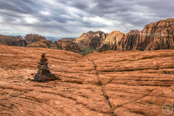 Tolle Aussichten im Snow Canyon State Park