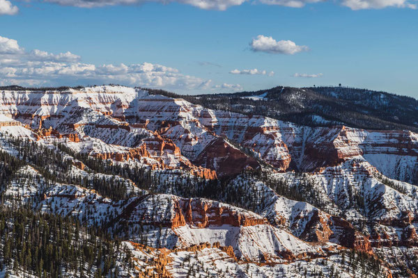 Schnee im Cedar Breaks National Monument