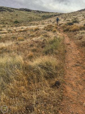 Der erste Abschnitt des Trails