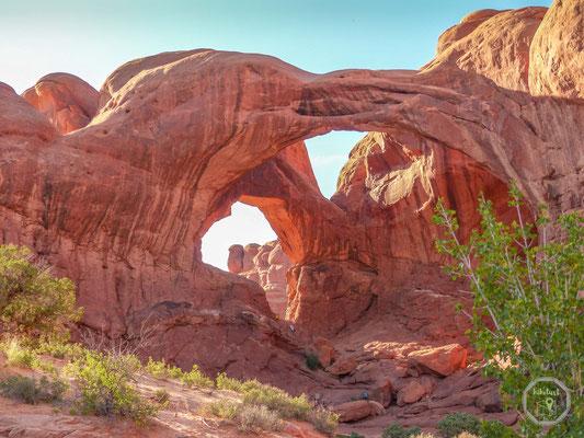 Der Double Arch trägt seinen Namen zurecht