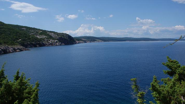 Küste bei  Vrbnik