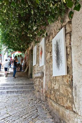 Rovinj, Altstadt, Künstler Gasse