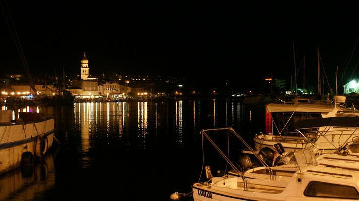 Hafenpromenade Stadt Krk
