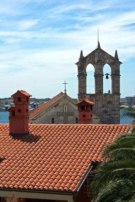 Glockenturm der Franziskanerkirche