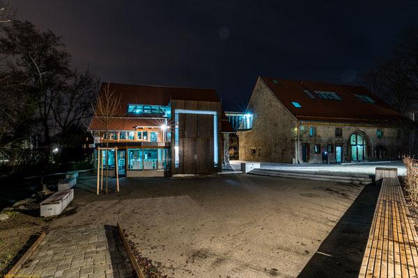 Rathaus und Mediathek in Kirchzarten
