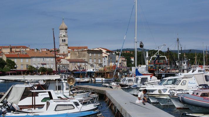 Hafen Stadt Krk