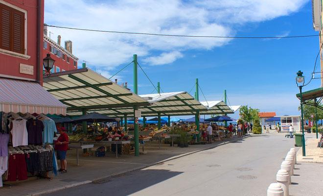 Marktplatz Rovinj