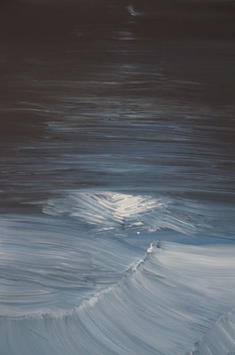 Modern Seascape (75 cm x 50 cm in acrylics - SOLD)