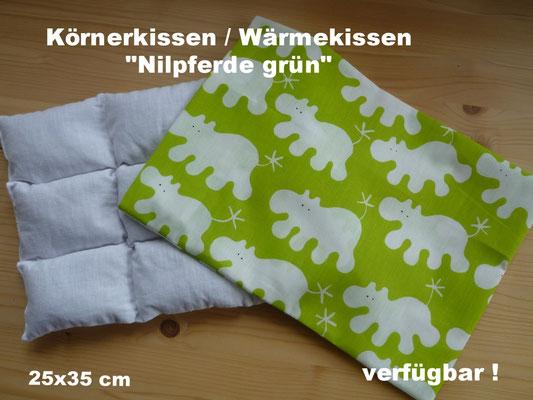 Körnerkissen/Wärmekissen speziell für Kinder mit waschbarem Überzug (andere Überzüge auf Anfrage)