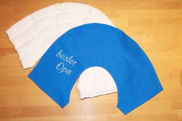 Körnerkissen/Wärmekissen/Wellnesskissen speziell für Schulter/Nackenbereich mit Überzug
