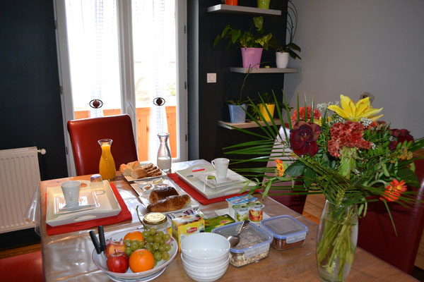 Petit-déjeuner - Chambres d'hôtes Bar-le-Duc