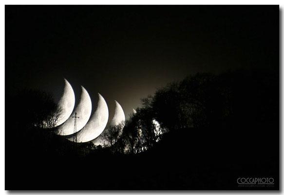 6 pose Luna