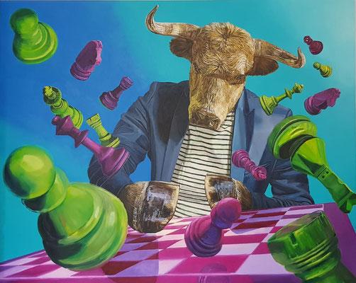 Unikat: Acryl auf Leinwand - 160 x 200cm