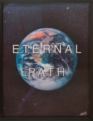Massimo Agostinelli - Planet Earth / Eternak Path von 2016 - Lenticular 112,5 x 147,5cm