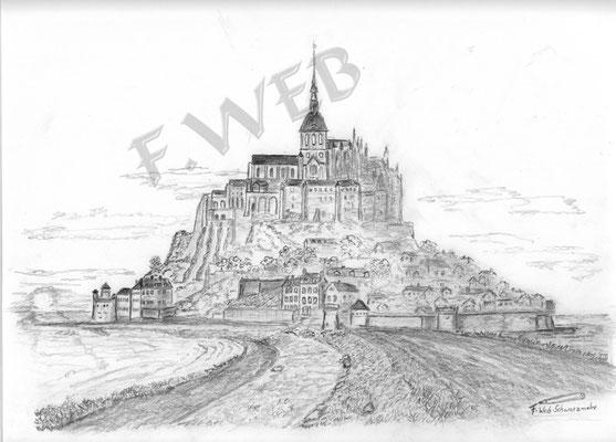 Kloster St Michel Frankreich