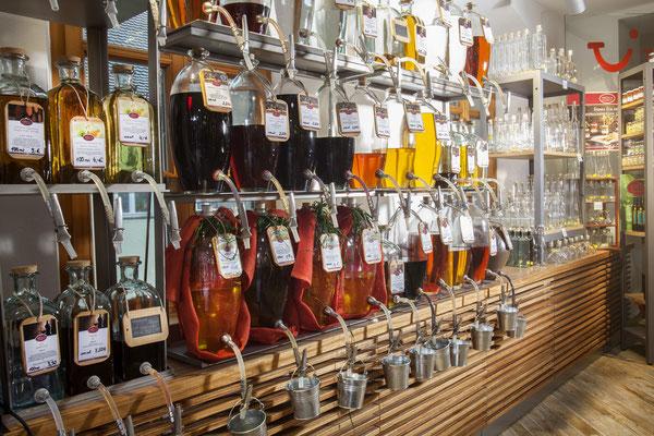 Essig und Öl zum abfüllen bei Ottmann in Sulzbach-Rosenberg