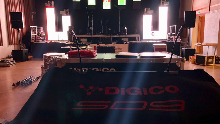 Cake Rock Festival 2019: DiGiCo SD9 + Martin Audio MLAM