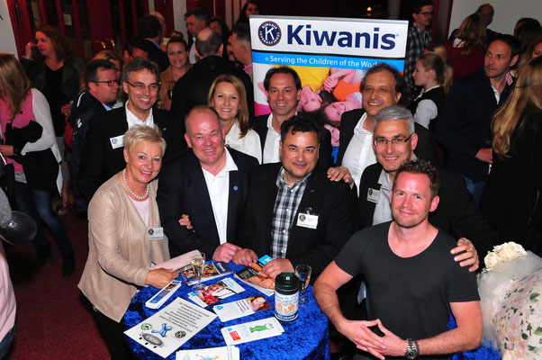 Axel Dohmann und die Kiwanier aus Darmstadt sagen DANKE!