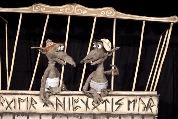 """""""Körbel & Abrazzo"""" ließen kaum ein Fettnäpfchen aus ..."""