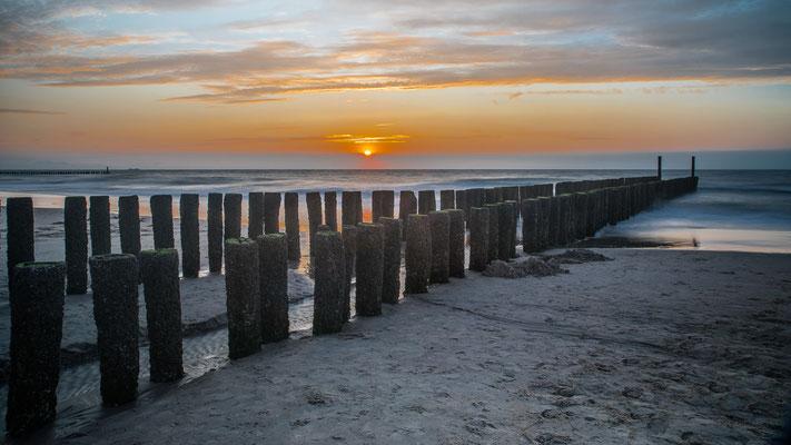 Zonsondergang Domburg - Zeeland - augustus