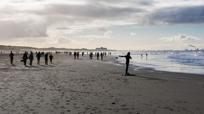 De warming up... [ Scheveningen]
