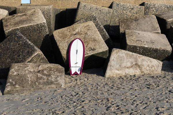 De surfplank... [Scheveningen] - januari
