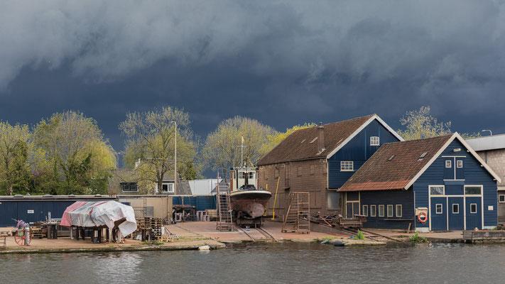 Scheepswerf Falcon - Alphen aan den Rijn - mei