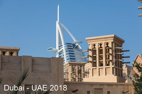 Dubai - UAE [Madinat Jumeirah / Dubai Frame] - October 2018