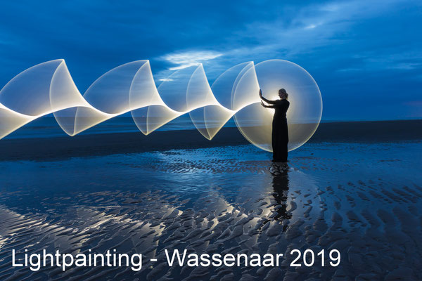 Lightpainting workshop - Wassenaar - 19 July 2019