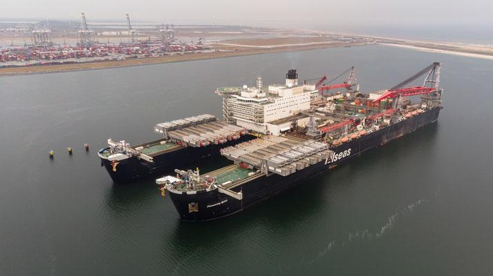 Pioneering Spirit - Maasvlakte Rotterdam