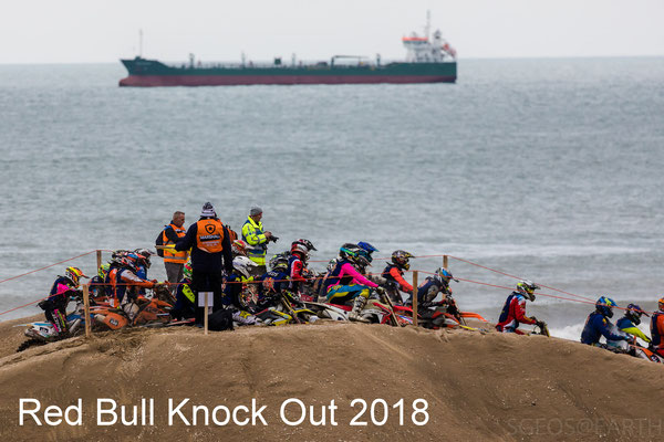 Red Bull Knock Out motorace at Scheveningen - 10 Nov 2018