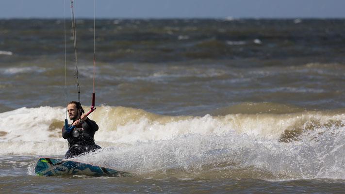 Kitesurfing - Zandvoort - augustus