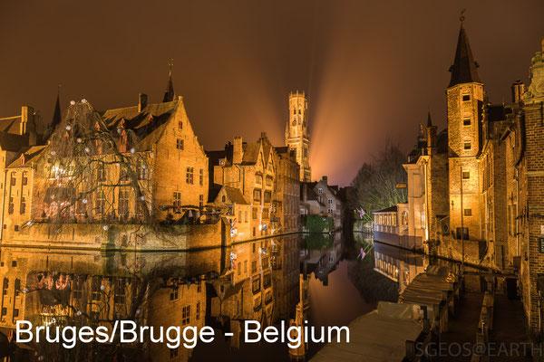 Brugge-Belgie - 28 Dec 2018