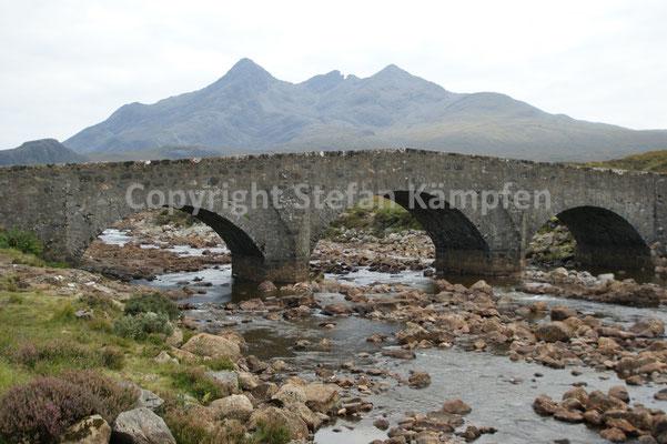 Die Cuillin-Berge der Isle of Skye