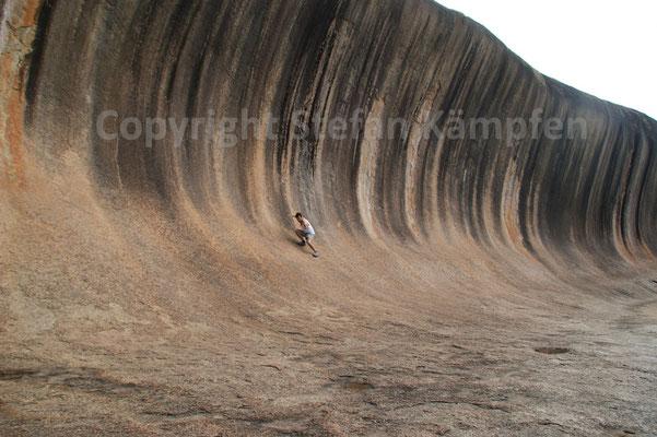 Die Stein-Welle von Hyden ist eine fossile Berühmtheit