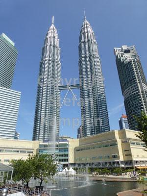 Das Markenzeichen von Kuala Lumpur: Die Twin-Towers