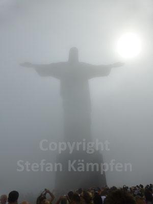 Das Wahrzeichen von Brasilien schlechthin: Der Cristo Redentor
