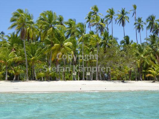 Traumstrand auf der Isla Coiba