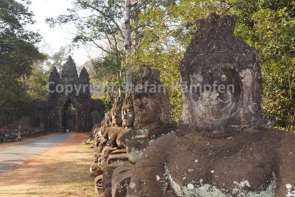 Die Tempel von Angkor bieten Einlass in eine Welt voller Götter