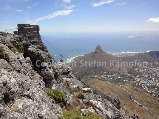 Der Tafelberg gehört zu den neuen sieben Weltwundern