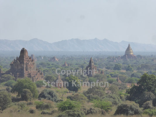 Die weltberühmten Pagoden von Bagan