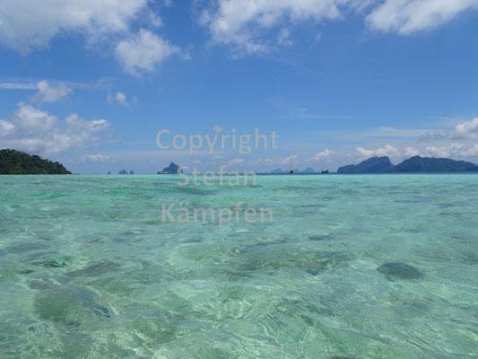 Am Strand von Koh Kradan werden Urlaubsträume wahr
