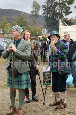 Zu kalt für einen kühlen Snack: Kein Thema für Schotten