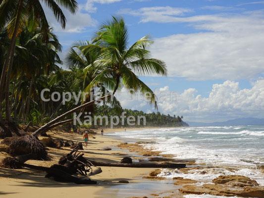 Traumkulisse an der Playa Cosón