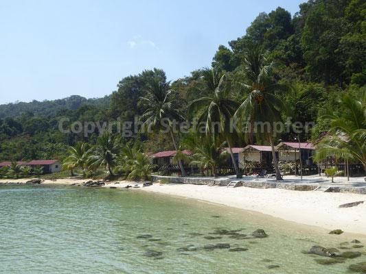 Ein Ort zum Chillen: Der Inselstrand von Koh Rong Samloem