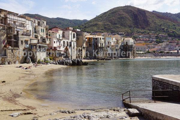 Cefalù: Das Thyrrhenische Meer gleich vor den Füssen