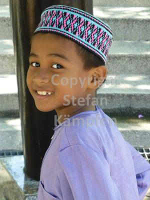 Muslimisches Kind in Kuala Lumpur