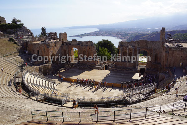 Antikes Theater in Taormina