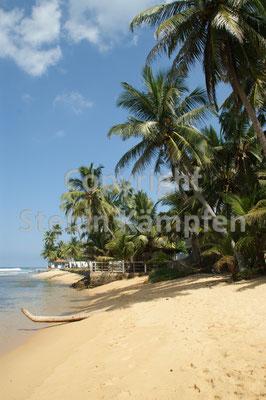 Tropischer Strand in Hikkaduwa